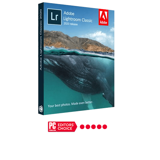Adobe Photoshop Lightroom Classic 5 star rating