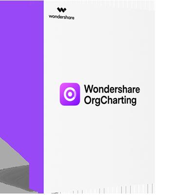 Wondershare OrgCharting product box