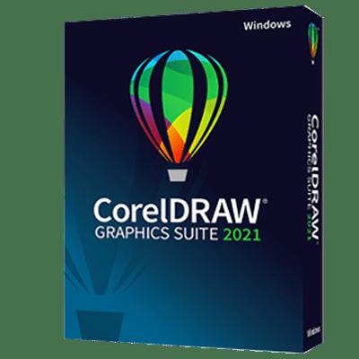 CorelDRAW Graphics Suite 2021 product box
