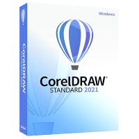 CorelDRAW Standard 2021 product box