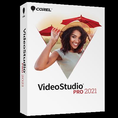 Corel VideoStudio Pro 2021 Product Box
