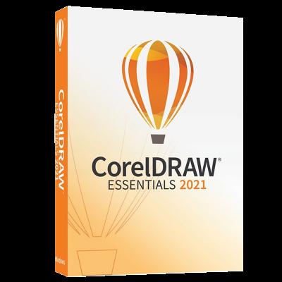 CorelDRAW Essentials 2021 Product Box