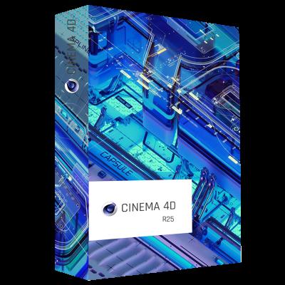 Maxon Cinema 4D R25 Product Box
