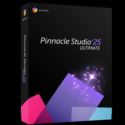 Pinnacle Studio 25 Ultimate Product Box